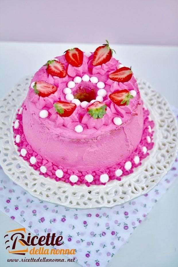 Foto chiffon cake decorata