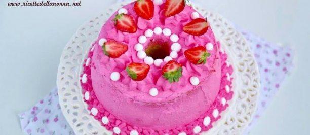 Ricetta chiffon cake decorata