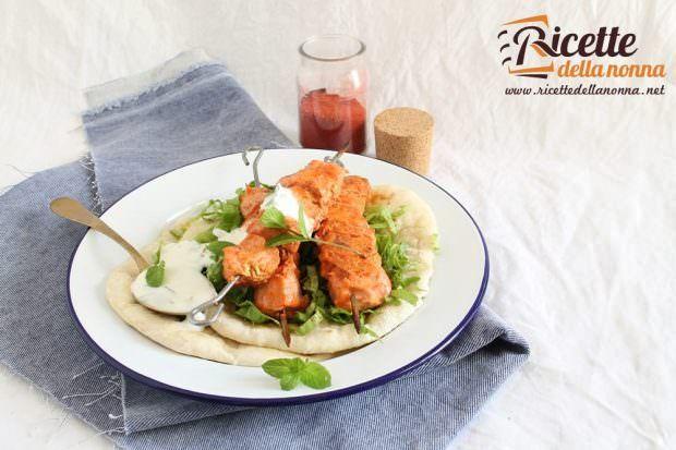 Ricetta spiedini di pollo tandoori