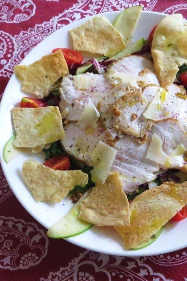 Foto Fesa di tacchino in insalata