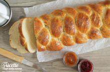 Challah ebraica ai semi di papavero