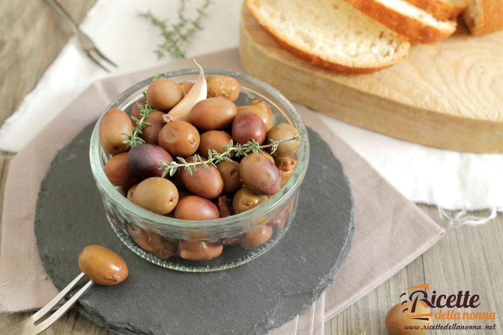 Ricetta olive in salamoia