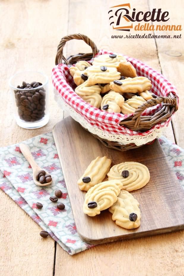 Foto biscotti al caffè