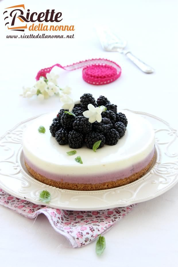 Foto cheesecake alle more