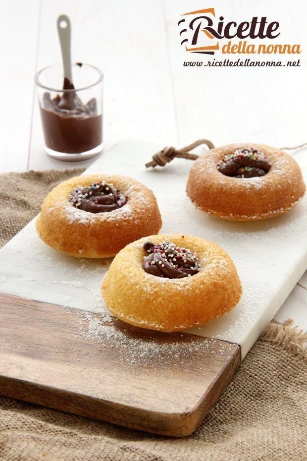 Foto ciambelline soffici alla Nutella