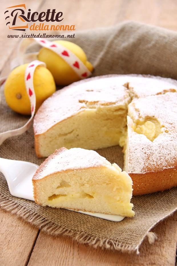Foto torta alla crema di limone
