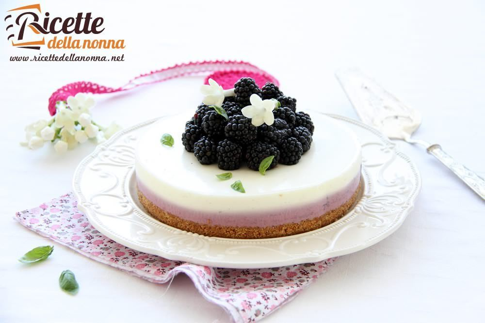 Ricetta cheesecake alle more