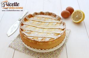 Crostata di ricotta all'arancia
