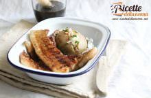 Pancetta al balsamico con patate in giacchetta
