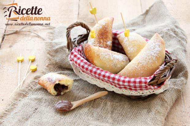 Ricetta panzerotti alla Nutella