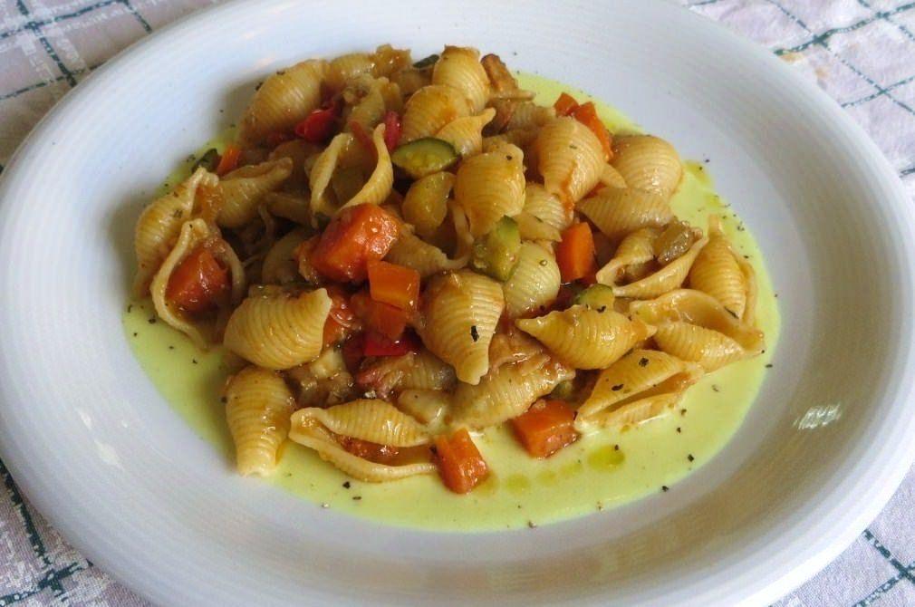 Conchiglie con verdure ricette della nonna for Ricette con verdure