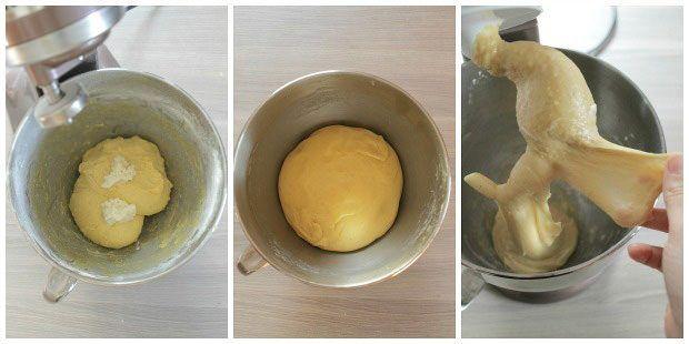Pandoro fatto in casa preparazione