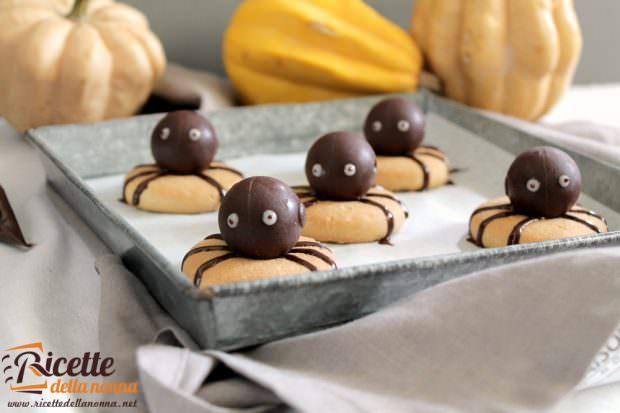 Ricetta biscotto ragnetti al cioccolato