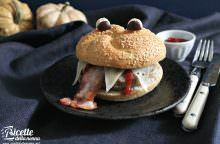 Un cheeseburger paurosissimo!