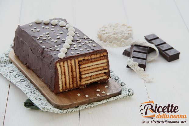 Ricetta mattonella oro saiwa al cioccolato