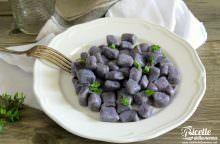Gnocchi viola di patate Vitellotte