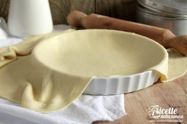 Pasta matta per strudel e torte salate