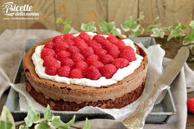 Ricetta torta soffice al cioccolato senza farina