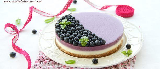 Ricetta cheesecake ai mirtilli