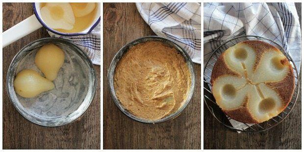 preparazione-torta-rovesciata-alle-pere-e-zenzero