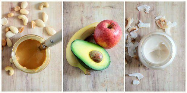come sostituire il burro in cucina: avocado, purea di frutta