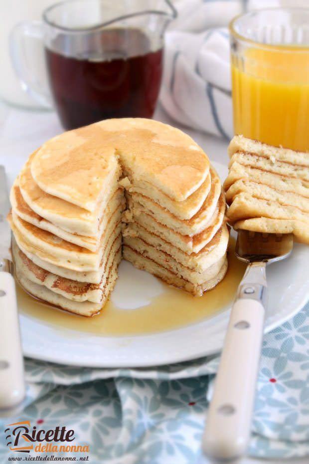 come preparare i pancake americani