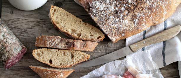 Ricetta pane tipo ciabatta fatto in casa