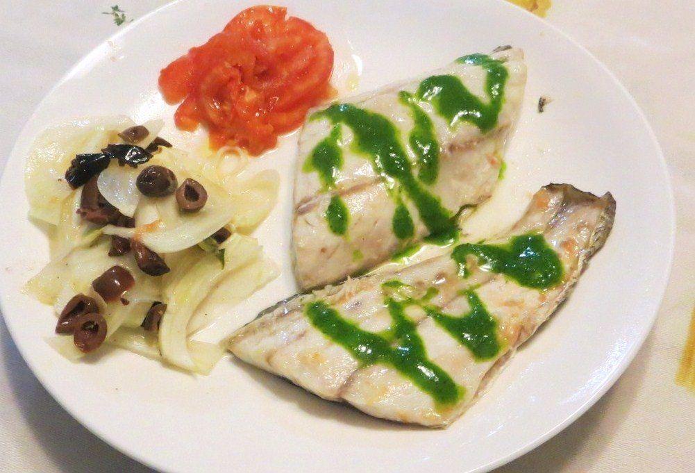 Ombrina al forno ricette della nonna for Ricette veloci pesce
