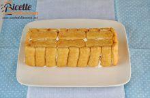Torta fredda al mascarpone, Nutella e Pavesini