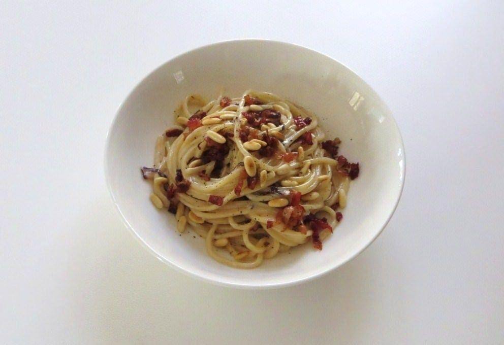 Spaghetti al gorgonzola e radicchio trevigiano ricette for Spaghetti ricette