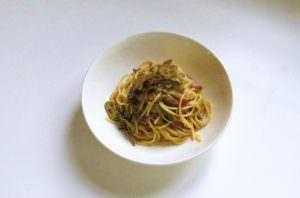 Spaghetti ai cuori di carciofo
