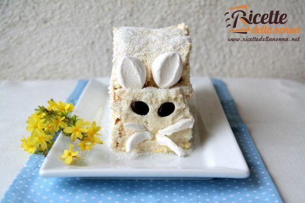 Torta coniglietto al cocco