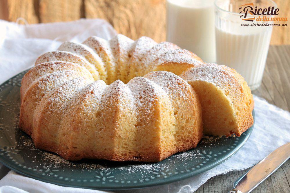 Ciambellone al mascarpone ricette della nonna for Ricette torte semplici