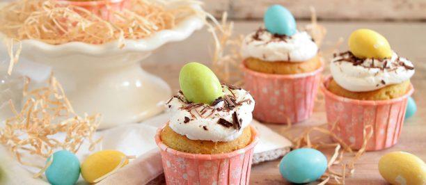 Ricetta cupcakes di pasqua