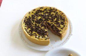 Frolla con crema, riso e cioccolato