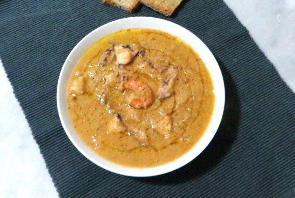 Zuppa di pesce delicata ricette della nonna for Primi piatti di pesce veloci