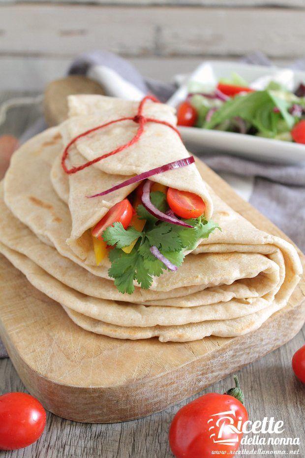 Foto tortillas fatte in casa
