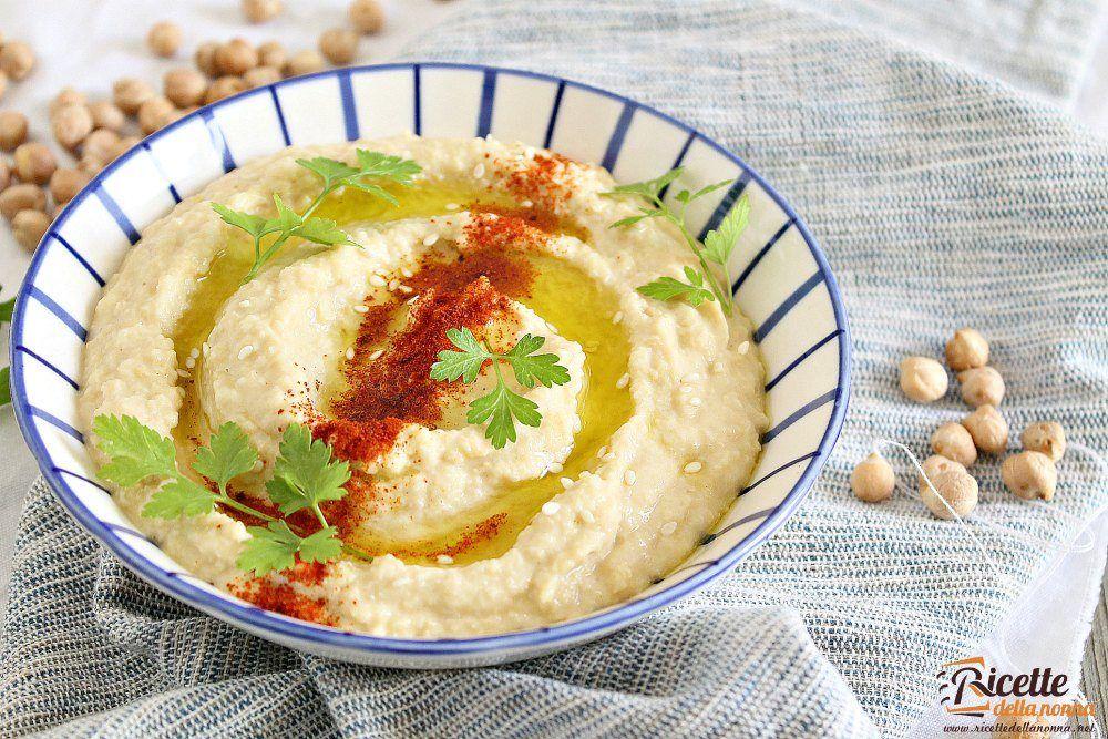 Ricetta Hummus Veloce.Hummus Di Ceci Ricette Della Nonna