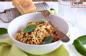 Risotto alla quinoa con carote, salvia e parmigiano