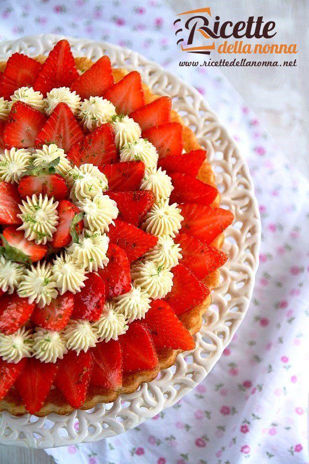 foto-torta-con-crema-al-lime-fragole