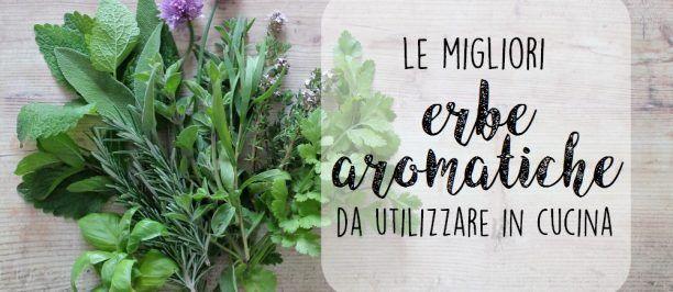 le migliori erbe aromatiche da utilizzare in cucina 1