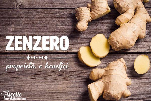 Zenzero: proprietà, benefici e controindicazioni