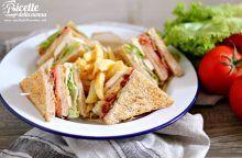 Club sandwich di pollo