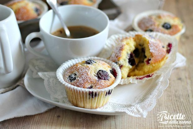 Ricetta muffins ai mirtilli