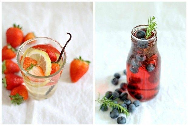 ricette e consigli per acque aromatizzate rinfrescanti 1