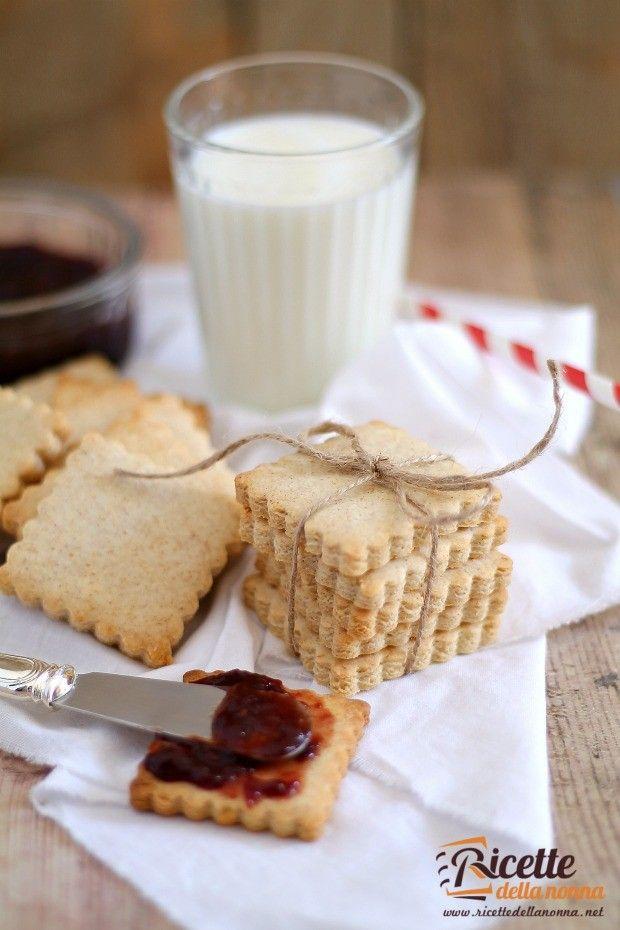 Foto biscotti secchi o petit beurre