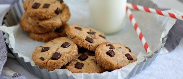 Cookies senza uova e senza burro