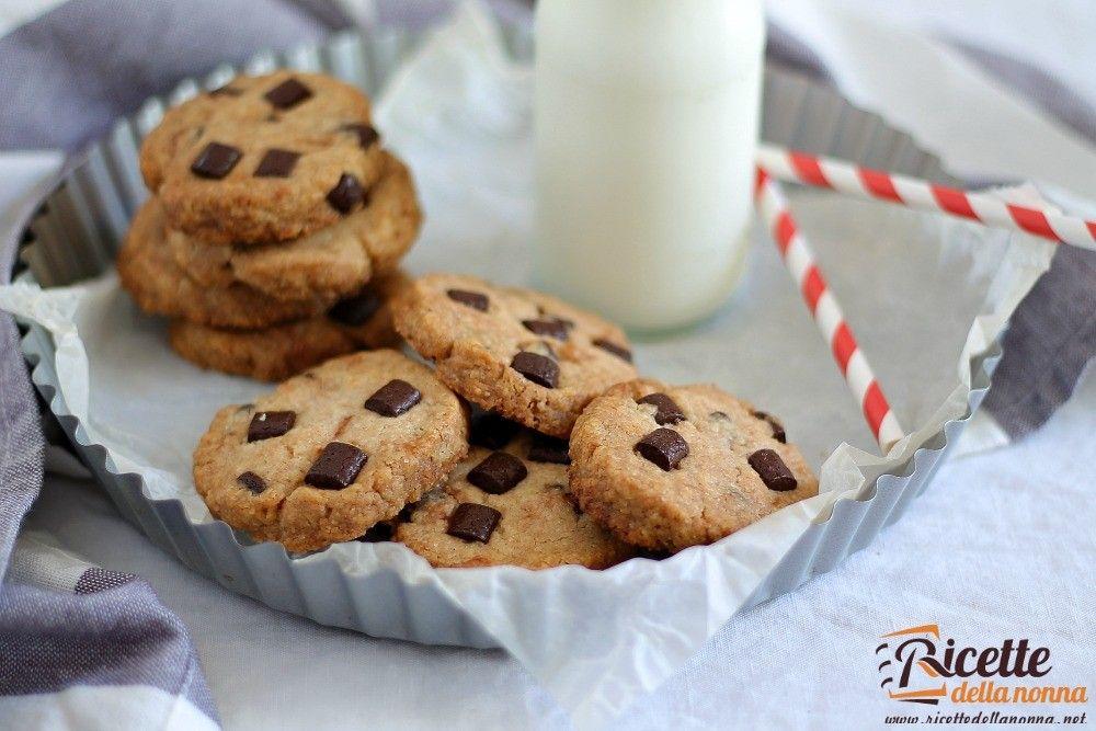 Ricetta Cookies Con Poco Burro.Ricetta Biscotti Senza Burro E Uova Ricette Della Nonna