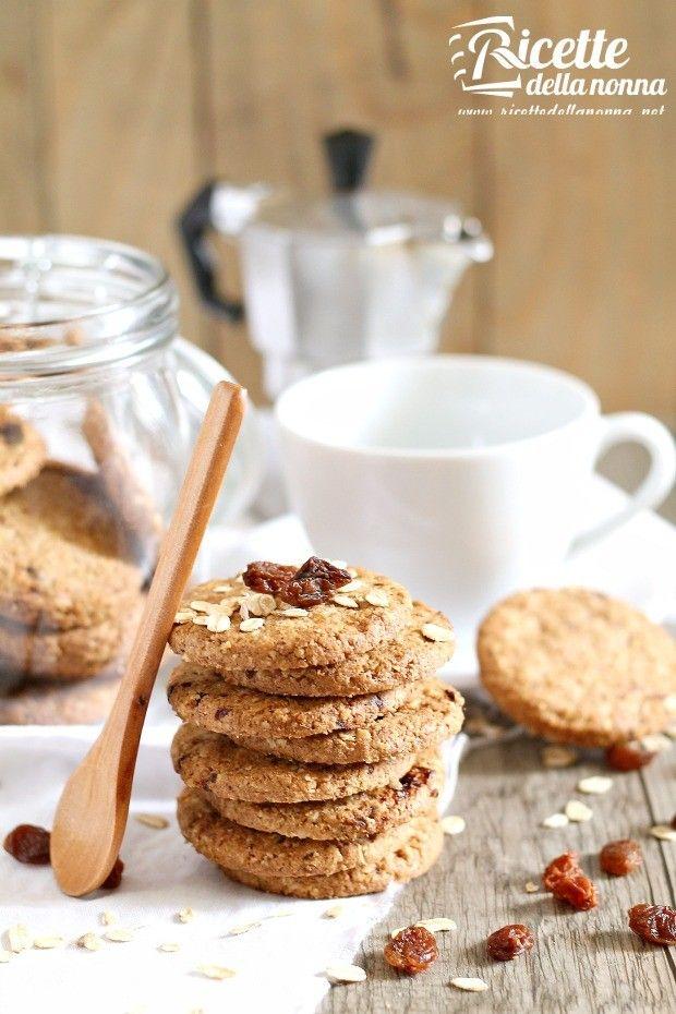 Foto biscotti ai cereali senza burro e senza uova