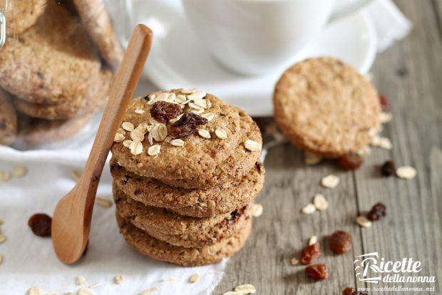 Ricetta biscotti ai cereali senza burro e senza uova